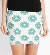 Colorful Donut Pattern Mini Skirt