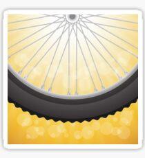 bicycle wheel Sticker
