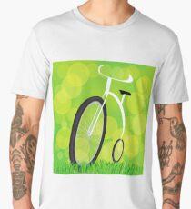 Retro-styled bicycle Men's Premium T-Shirt