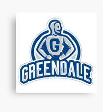 Greendale Sports Canvas Print