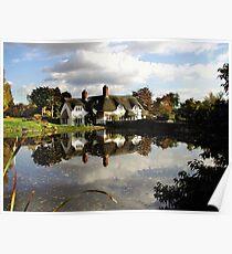 BADGER HOUSE, BADGER, SHROPSHIRE, ENGLAND Poster