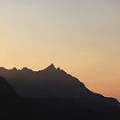 Sgurr nan Gillean sunset by beavo