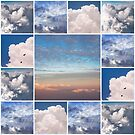 Dreamy Clouds Collage by JennyRainbow