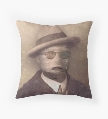 The Baptism of Peregrine Forbes Throw Pillow