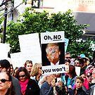 Women's March Riverside by Stephen Burke