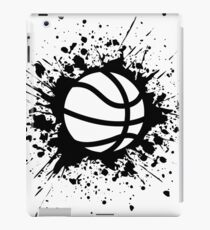 basketball splat iPad Case/Skin