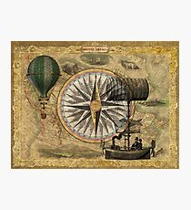 Steampunk Travelers Photographic Print