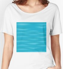 water background Women's Relaxed Fit T-Shirt
