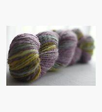 Handspun yarn Photographic Print