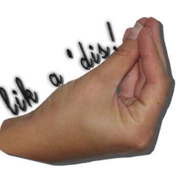 Italian Meme Hand - Lik' a 'dis! by CalumReid