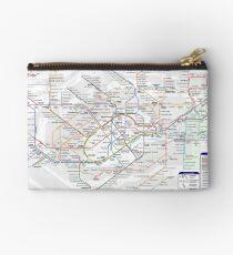 London Underground Map Studio Pouch
