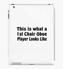Oboe iPad Case/Skin