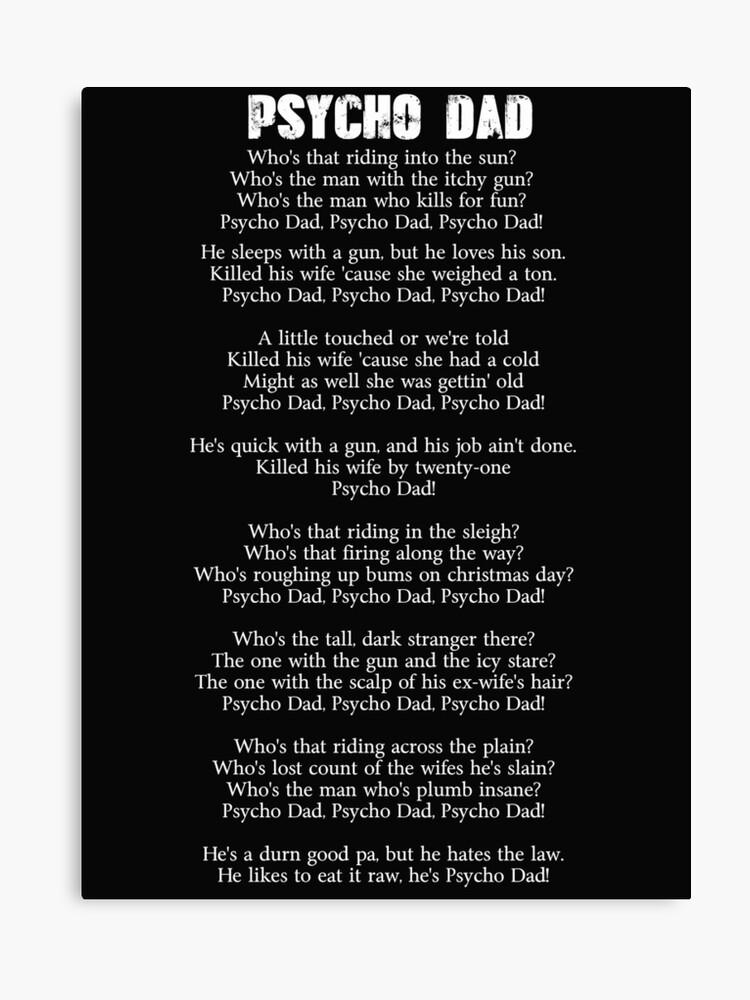 6f57dbf9 Psycho Dad lyrics