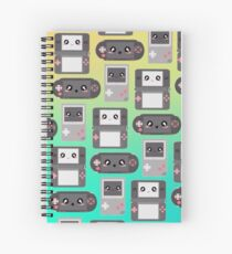 Video Game Controller Pattern Spiral Notebook