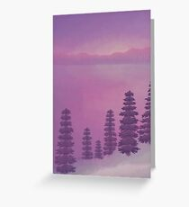 Wintry Light Greeting Card