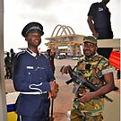 Ghana, Army at Independence Square by Remo Kurka
