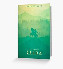 TLOZ - The Legend of Zelda (Minimal design) Greeting Card
