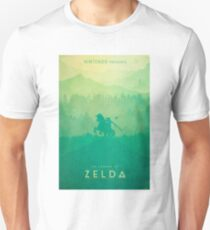 TLOZ - The Legend of Zelda (Minimal design) Unisex T-Shirt