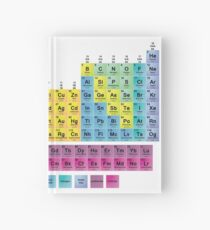 Periodic Table of the 118 Elements Hardcover Journal