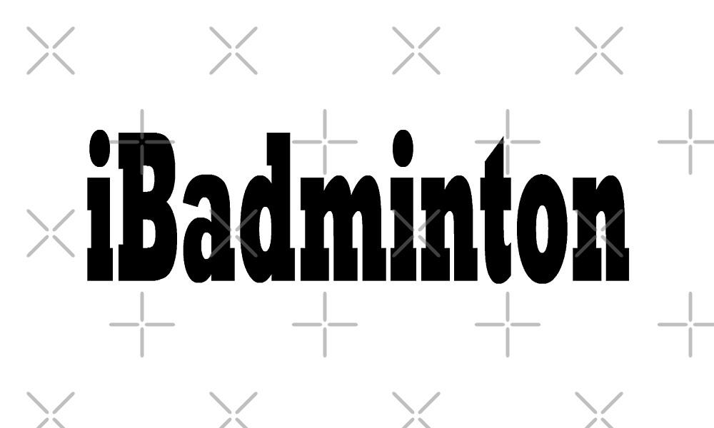 Badminton by greatshirts