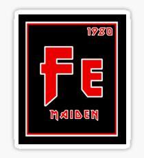 Fe Maiden Sticker