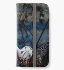 Great Egret iPhone Wallet