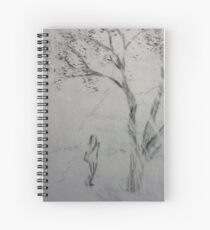 Chasing Tiger Spiral Notebook