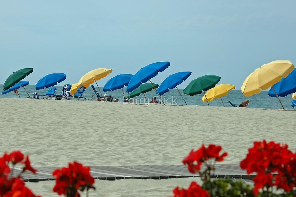 Day at the Beach by Larry Glick