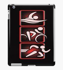 Swim Bike Run Triathlon iPad Case/Skin