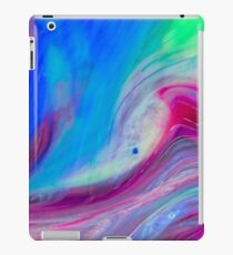Fresh Blue Natural Fuchsia  iPad Case/Skin