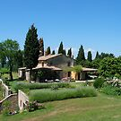 Tuscan Villa by Larry Glick