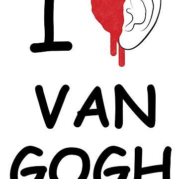 I love Van Gogh by Solublezebra