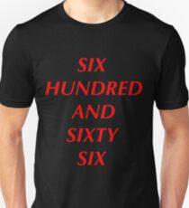 666 Unisex T-Shirt