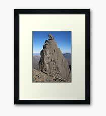Inaccessible Pinnacle Framed Print