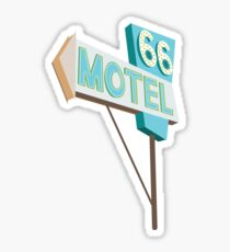 Motel 66 Sticker