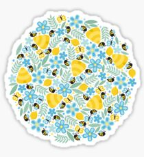 Busy Little Honeybees Sticker