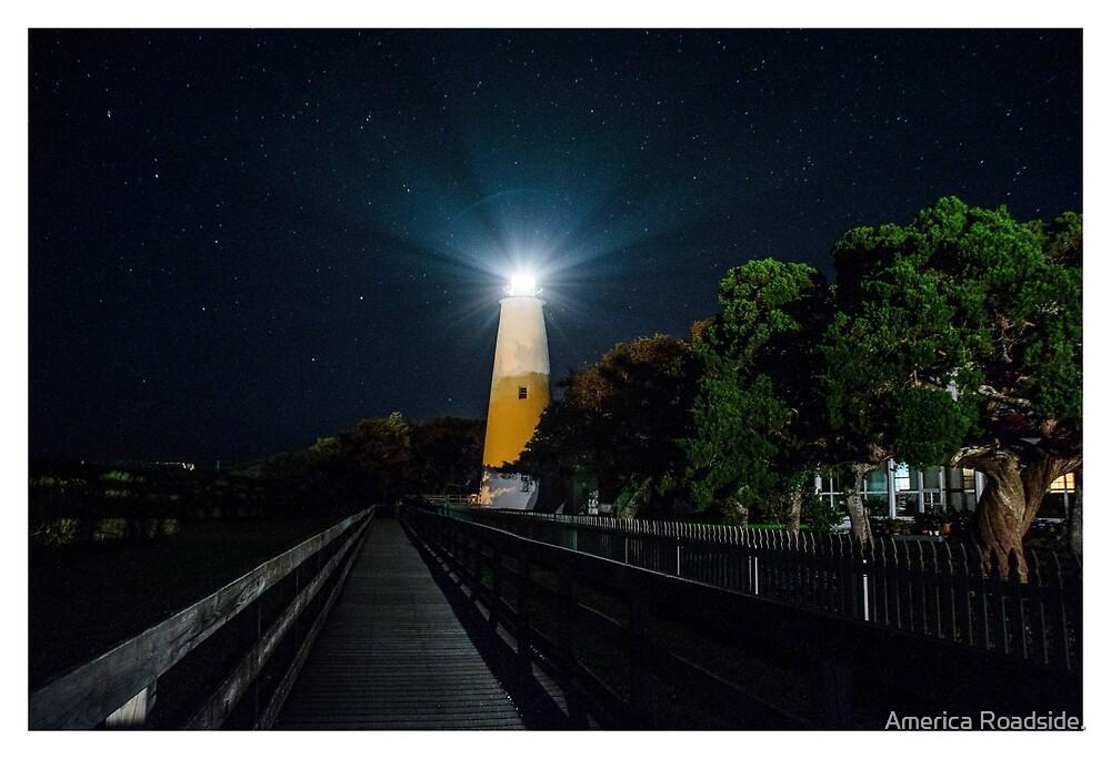 Ocracoke Light by America Roadside.