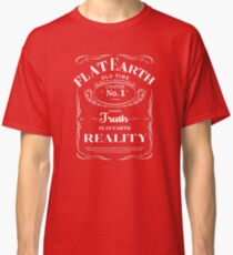 old time flat earth reality Classic T-Shirt