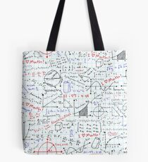 Math Homework Tote Bag