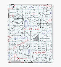 Math Homework iPad Case/Skin