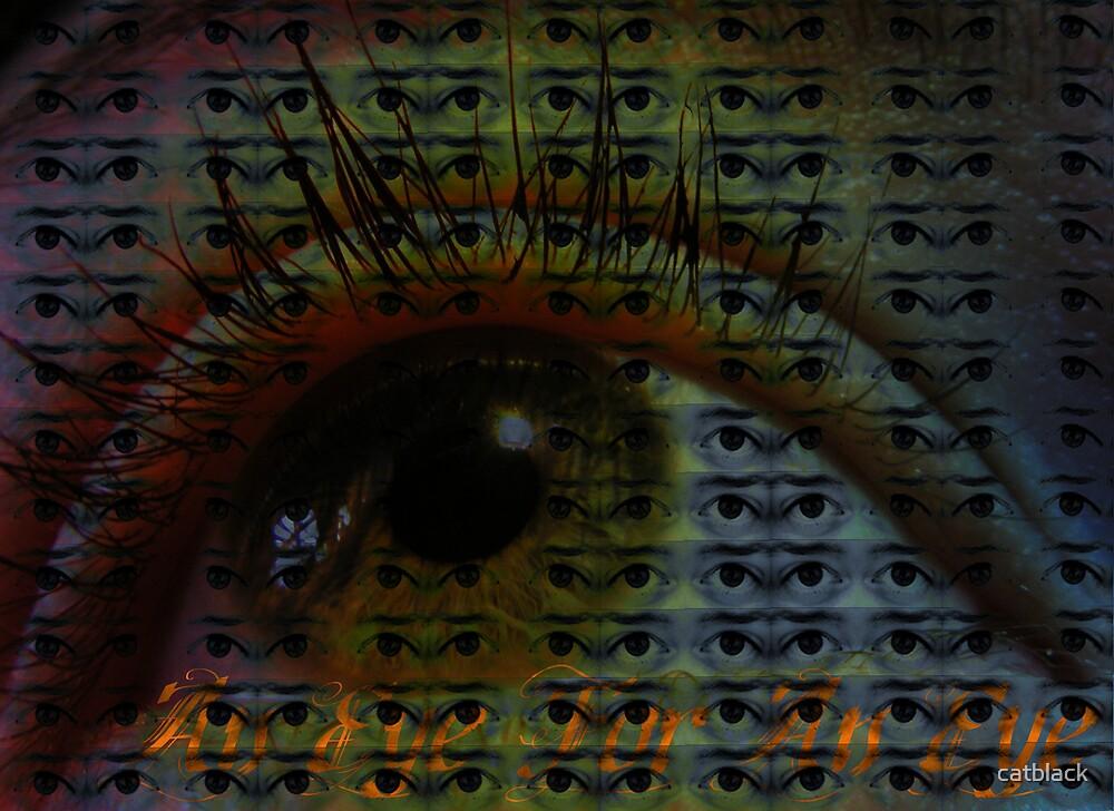 An Eye for an Eye by catblack