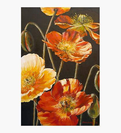 Poppies Too (for Lea Durham) Photographic Print