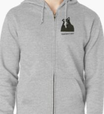There's Really A Wolf Zipped Hoodie