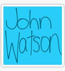 Dr. John H. Watson Sticker