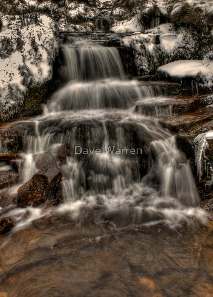 Icy Falls by Dave Warren