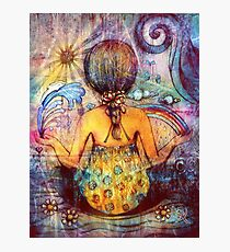 Rainbow Meditation Photographic Print