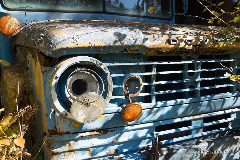 old car by Anne Scantlebury
