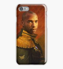 Monsieur Commandant Thierry Henry iPhone Case/Skin