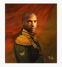 Monsieur Commandant Thierry Henry Photographic Print