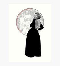 Immortal Marilyn Memorial Week 2017 with Quote Art Print